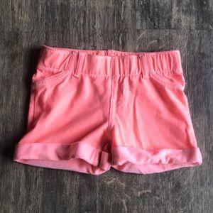 Circo (Target) Girls Neon Coral Shorts